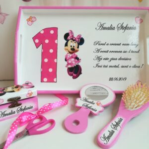 Set tavita mot/turta Minnie Mouse