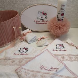 Pachet complet botez Hello Kitty