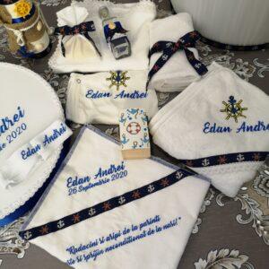 Pachet complet botez personalizat baiat marinar